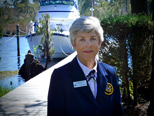 Louise Knight Takes the Helm at Fairfield Harbour Yacht Club