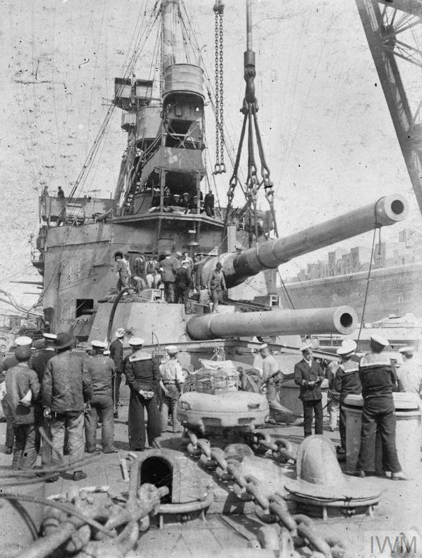 HMS Agamemnon June 1915