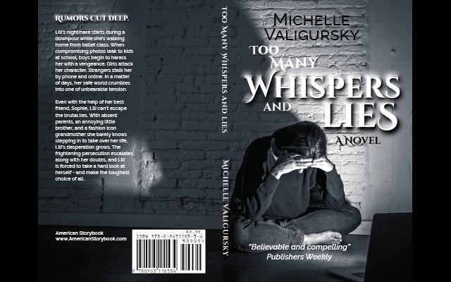 Whispsers and Lies book cover