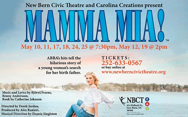 NBCT marquee Mamma Mia