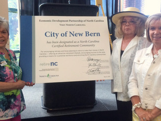 New Bern officially recognized as a North Carolina Retirement Community