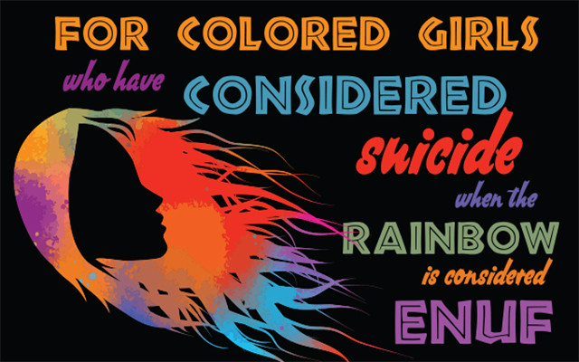 For Colored Girls NBCT marquee