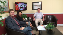 Dan Argentieri, Harbour Pointe Golf Pro and Manager visits All About Craven on Tuesday, October 27,