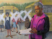 Ann Herndon by Artist Jill Eberle, 2020.