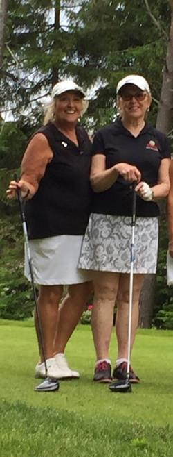 Janet Corkum & Verna Dobson River Oaks 2020 Ladies 2 ball Champions