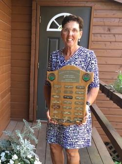 River Oaks 2019 Ladies Low Net Champion Martha Higgins
