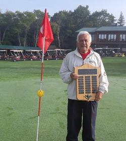 Larry Ward Senior Masters Club Champion 2020
