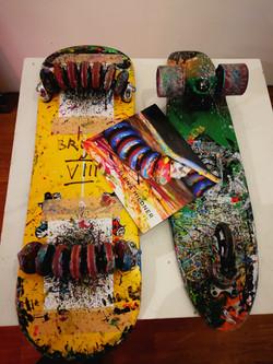 Elena Mildner Skateboard Art Vernissage