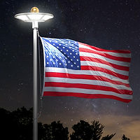 120-LED-Flag-Pole-Light-IP65-Waterproof.