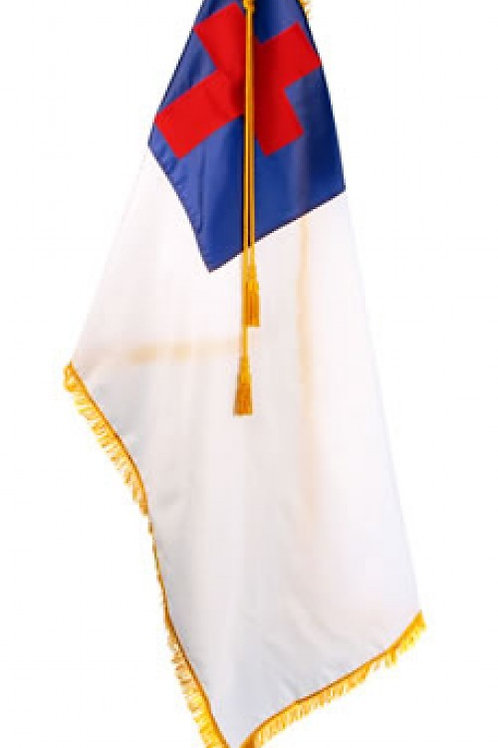 Deluxe Christian Flag Set