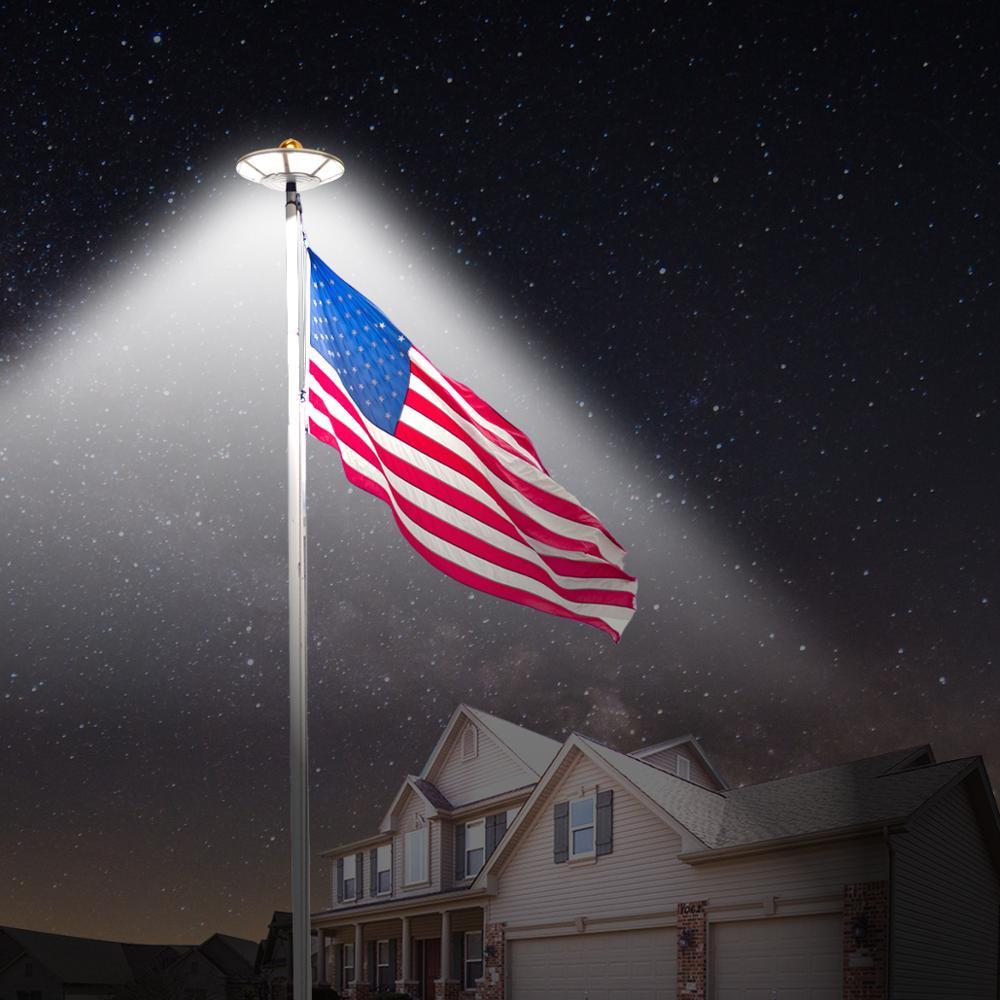 120-LED-Flag-Pole-Light-IP65-Waterproof