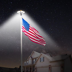 120-LED-Flag-Pole-Light-IP65-Waterproof