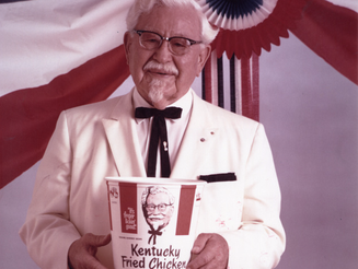 Coronel Sanders, do Fracasso ao Sucesso aos 62 Anos de Idade