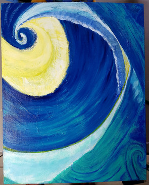Tim Burton Waves