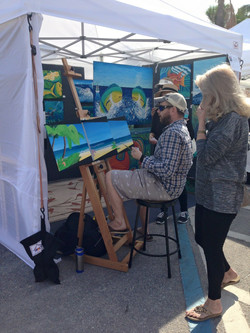 RED live painting