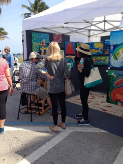 Live Painting by RED