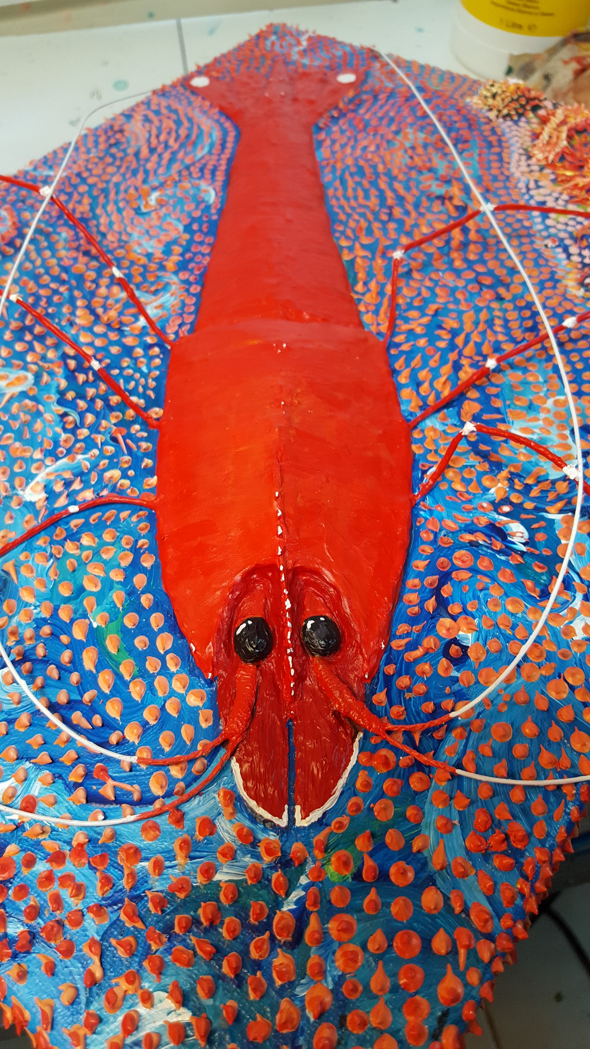 3D Shrimp Painting