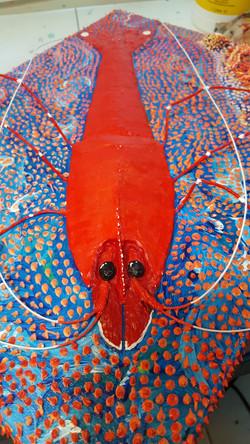 3D Shrimp Painting