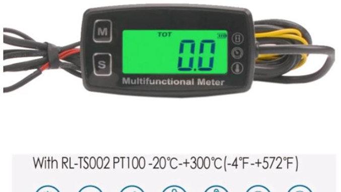 Compte-tours-horamètre-température
