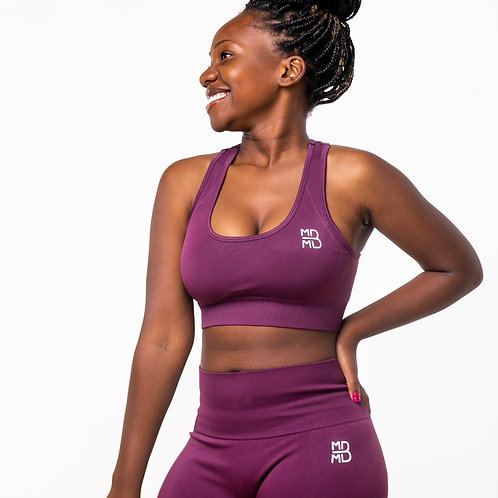 High support workout suit
