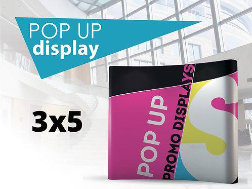 PopUp display 3x5