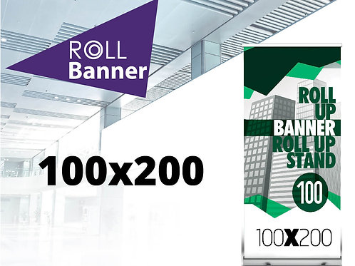 Roll Banner Strong 100x200 cm
