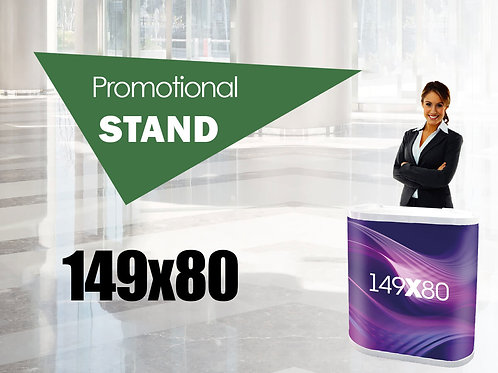 Budget promotional stand