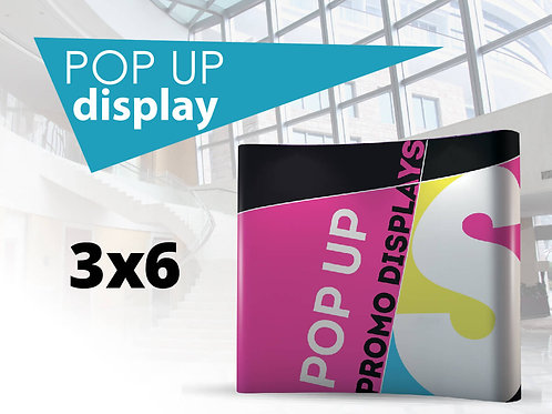 PopUp display 3x6