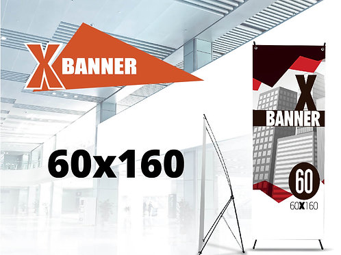 X Banner Strong 60x160 cm
