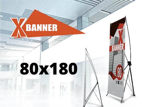 X Banner Strong 80x180 cm