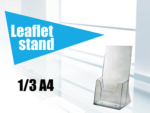Leaflet stand 1/3 A4