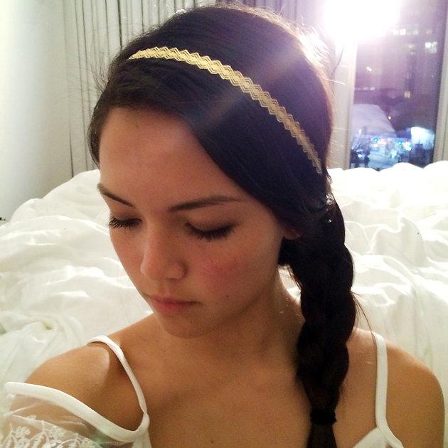 kendall jenner hair lustria gold flash tattoo jewelry diy