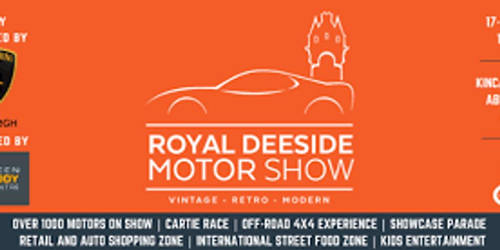 Royal Deeside Motor Show - Sunday
