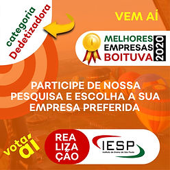 PREMIO MELHORES EMPRESAS - Dedetizadora.