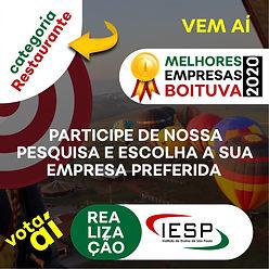 PREMIO MELHORES EMPRESAS - restaurantes.