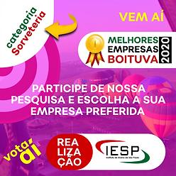 PREMIO MELHORES EMPRESAS - Sorveteria.pn