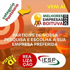 PREMIO MELHORES EMPRESAS - Pastelaria.pn