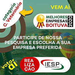 PREMIO MELHORES EMPRESAS - Clinica Veter