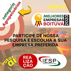 PREMIO MELHORES EMPRESAS - Agropecuarias