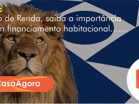 Imposto de Renda, saiba a importância para um financiamento habitacional.