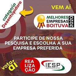 PREMIO MELHORES EMPRESAS - Desentupidora