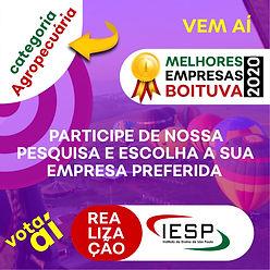 PREMIO MELHORES EMPRESAS - Agropecuaria.