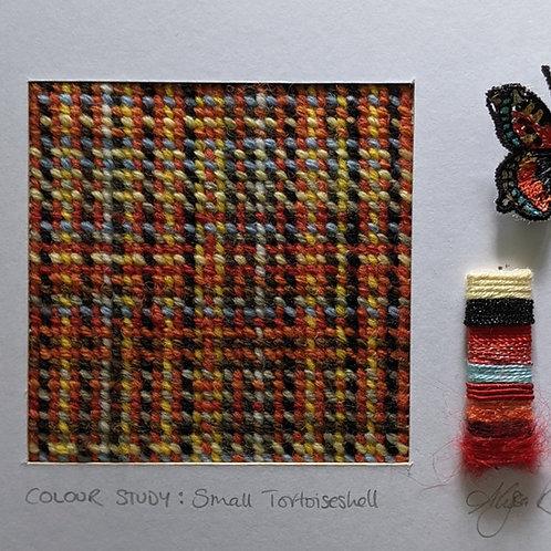 Colour Study: Small Tortoiseshell Butterfly