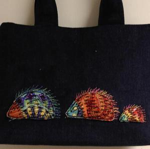 Hedgehog handbag