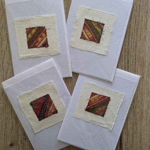 Silk strip card