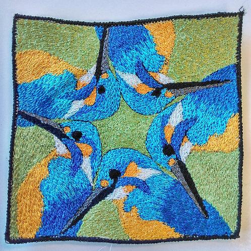 Bespoke order 6 Kingfisher