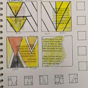 Derngate sketchbook