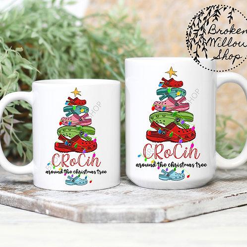 Crocin' Around the Christmas Tree Mugs 11 oz. or 15 oz.