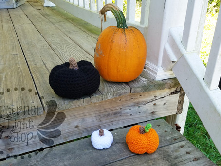 ANY COLOR(S) Pumpkin Sizes Small, Medium or Large