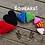 Thumbnail: Pet Squeaky Dog Toy Hearts (Sm, Md, Lg) Any Colors Small, Medium, Large